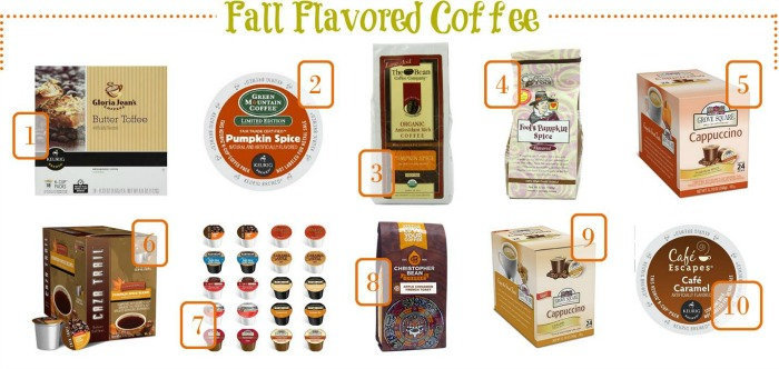 Great Fall flavored coffee beverages to make at home