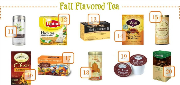 Tasty fall flavored teas to make at home