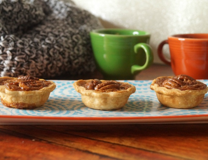 How to make mini pecan tartlets