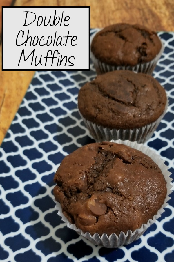 Make these tasty and super moist Double Chocolate muffins from scratch   Muffin recipe   baking #baking #recipe #breakfast #chocolate