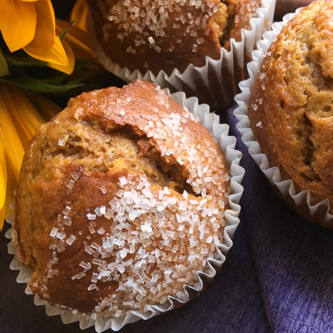 simple moist spiced pumpkin muffin recipe