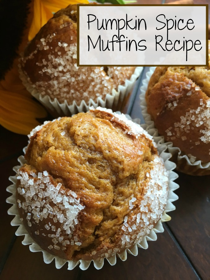 How to make Pumpkin Spice Muffins from scratch   Easy healthy recipe   No cream cheese   Moist and delicious for fall and autumn