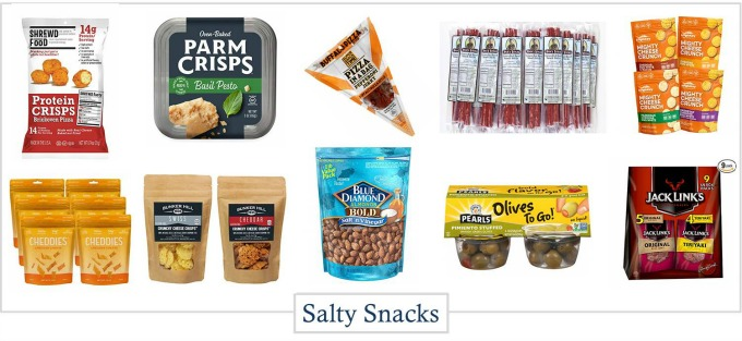 Keto snacks that are salty