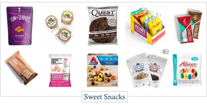 Great options for keto snacks that are sweet